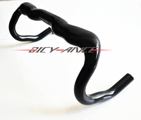 The Newest Full Carbon Fission Bike Handlebar Road Bicycle Bend Handlebar 3K Texture