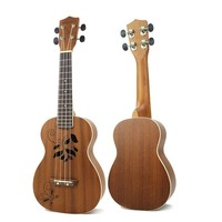 23 Inch Uicker In Small Guitar Woodiness Vuk Lily Four Stringed music Instrument tools school educational supplies WJ JX31 NEW