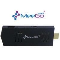 MeeGOPad T02 2GB/32GB Small Compute Stick Ubuntu 14.10 Linux Version Mini PC Intel Atom Quad Core Z3735F HDMI Wifi TV BOX