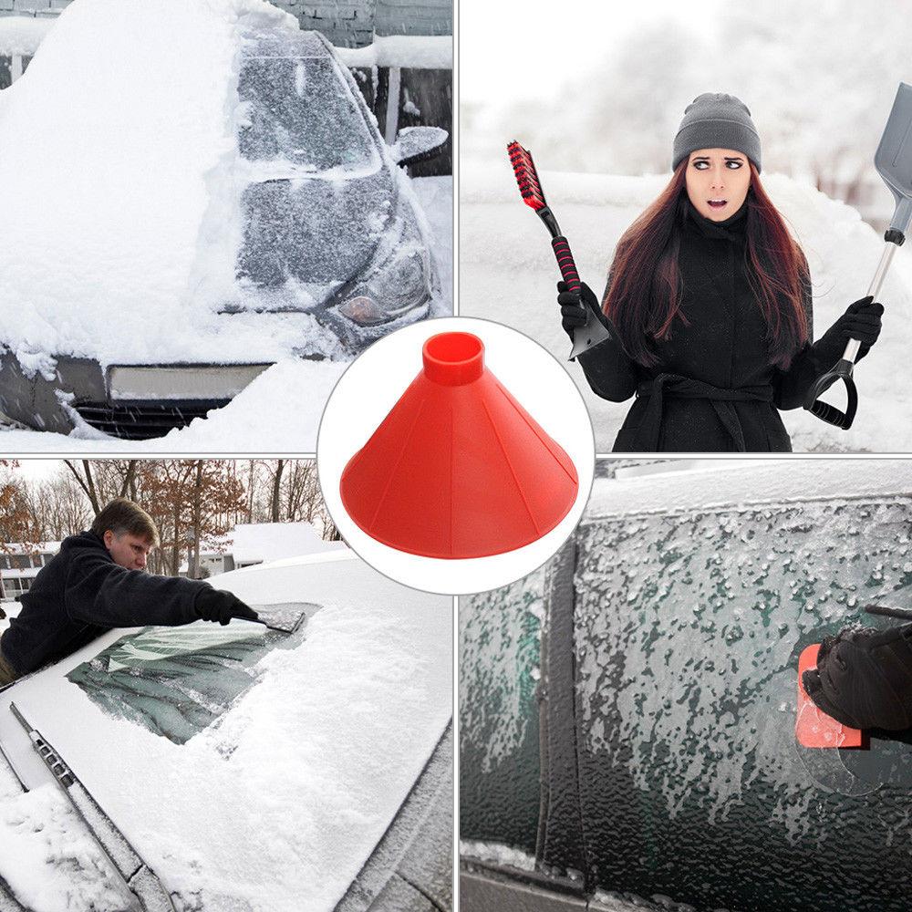 Vehemo пластиковая лопатка для льда, скребок для снега, мелтер для снега, автомобиль для электроприборов, щетка для снега, портативный уличный размораживатель