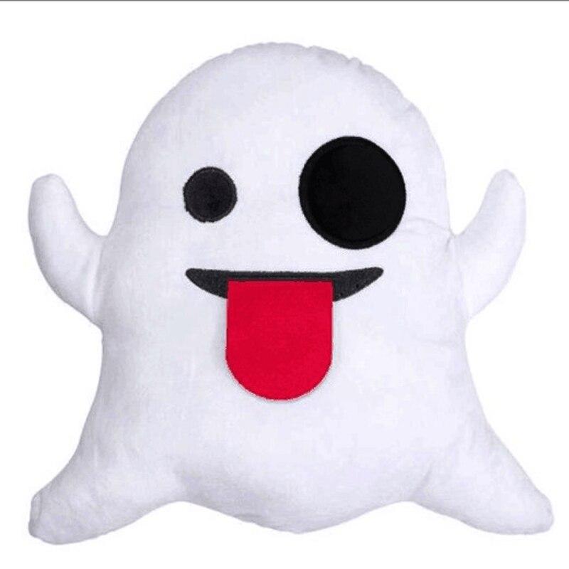 Neue Stile Weiche Emoji Lächeln Emoticon Weiß Kissen Stuffed geschenke Für mädchen WhatsApp Emoji kissen weihnachtsschmuck