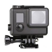 Gopro hero 4/3 + 용 전문 블랙 사이드 오픈 보호 케이스 카메라 액세서리