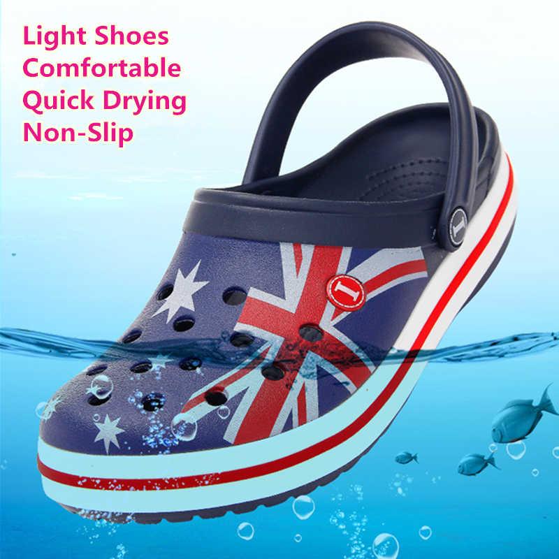2020 女性の靴ワニ男性newビーチ靴のサンダルのホームスリッパ男性屋外夏海靴ワタリスニーカーレジャー靴