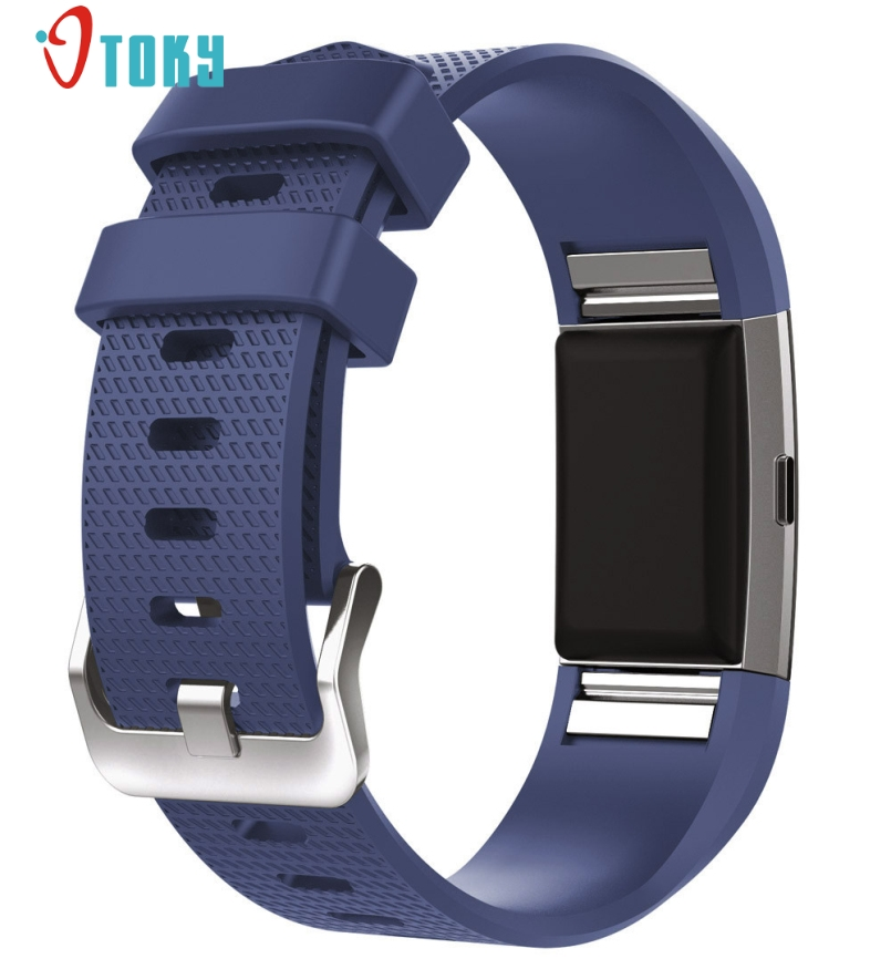 Excellent Quality New Sport Silicone Band for Fitbit Charge 2 Smart Bracelet Strap For Fitbit Charge 2