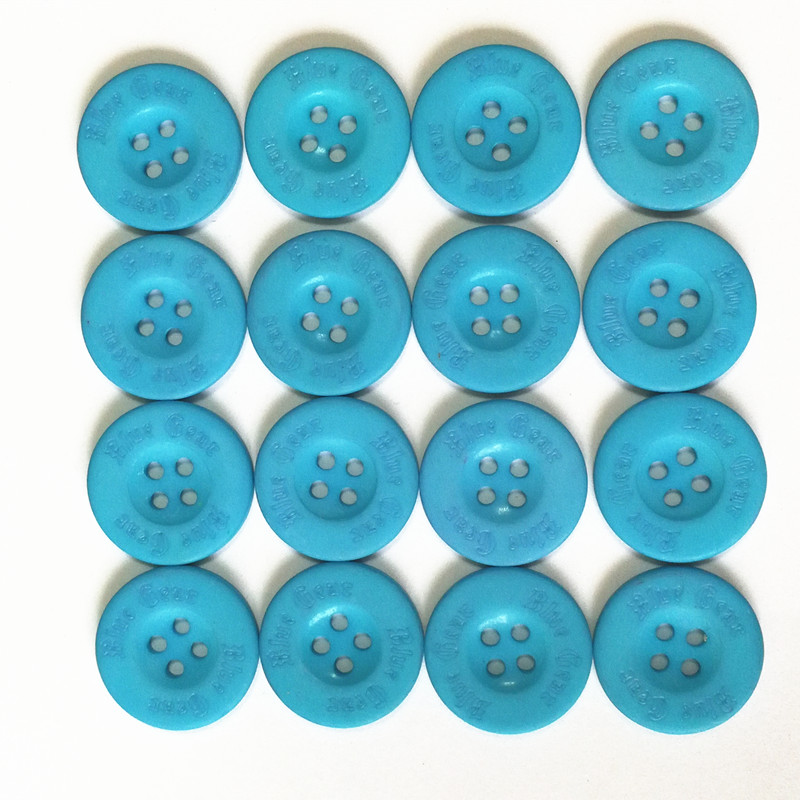 Resin plastic Colored Button DIY materials for children Handmade buttons stick painting in kindergarten