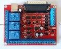 6 Ejes CNC Interfaz Del Tablero Del Desbloqueo MACH3 Máquina de Grabado USB PWM Husillo