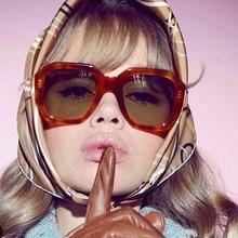 Hexagon Sunglasses Women 2019 Men Vintage Design Ocean Color Lens Retro Sun Glasses Shades for Gothic Style