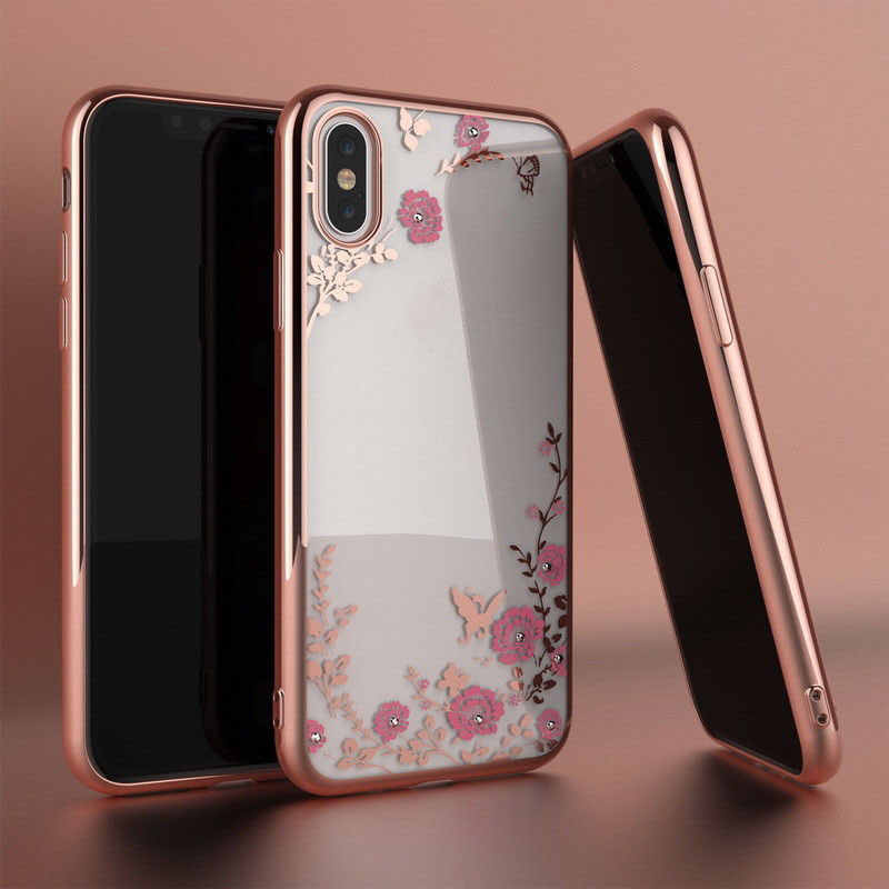 Soft Silicone Cases for Huawei P Smart Plus Y6 Pro 2019 P30 P20 Lite Pro TPU Flower Diamond Case Honor 10i 20i V20 7C 7A Pro 8X