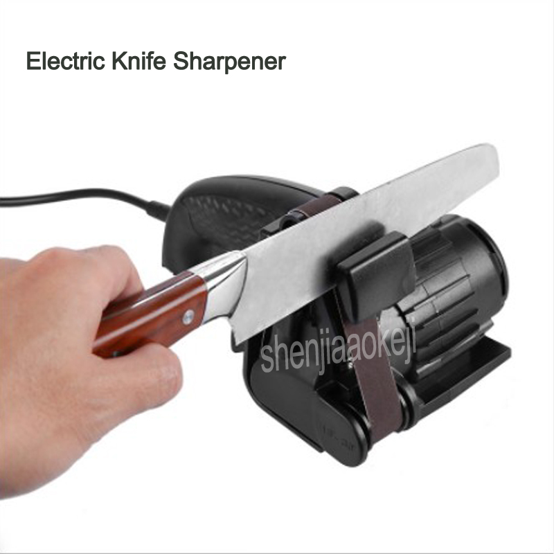 Portable Handheld Electric Knife Sharpener Household Automatic Grinding Adjustable Sharpen Knives Kitchen Tool 1pcPortable Handheld Electric Knife Sharpener Household Automatic Grinding Adjustable Sharpen Knives Kitchen Tool 1pc