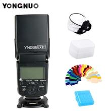 YONGNUO YN568EX III flash TTL Wireless HSS Flash Speedlite for Canon Nikon DSLR Camera Compatible YN600EX-RT II YN568EXII цена