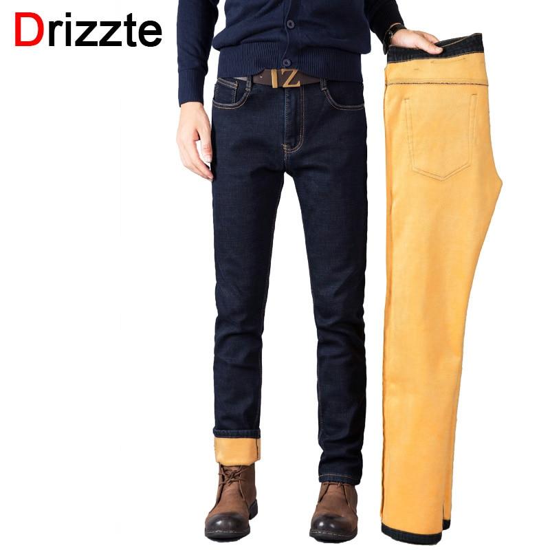 Fleece Lined Mens Jeans