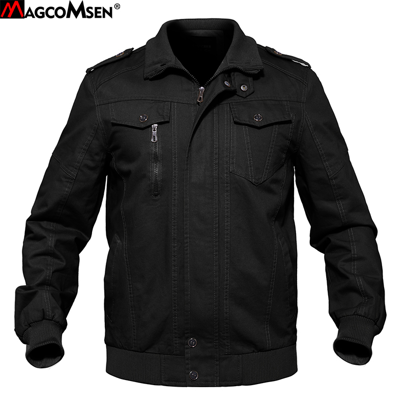 MAGCOMSEN Mens Jacket and Coat Winter Cotton Navy Type Tactical Jacket Cargo Bomber Pilot Jacket Outwear Clothes SSFC-14-1 Jackets, Low cost Jackets, MAGCOMSEN Mens Jacket and Coat Winter Cotton...