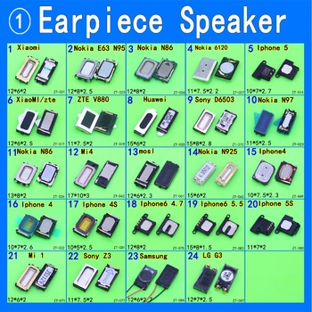 JCD Earpiece Speaker Earphone Receiver For All Brand Cell Phone Common Universal Used image