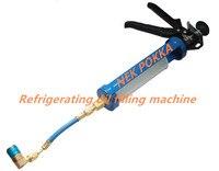 Óleo do compressor pistola de enchimento, máquina de enchimento de óleo de Compressor de refrigeração, carga de óleo congelado, Refrigerante R134A, R22, R404, R410, R606, etc
