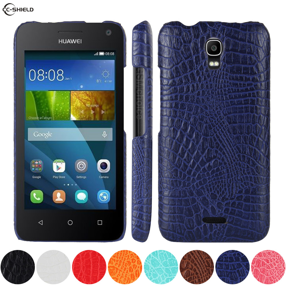 Leather Case for <font><b>Huawei</b></font> Y3 Y 3 <font><b>Y360</b></font>-<font><b>U61</b></font> <font><b>Y360</b></font>-U31 <font><b>Y360</b></font>-U82 Phone Bumper Fitted Case for <font><b>Huawei</b></font> Y 360 <font><b>Y360</b></font> <font><b>U61</b></font> U31 U82 PC Cover image