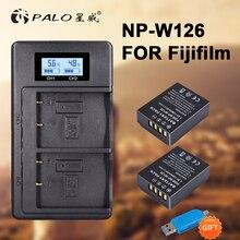 2Pcs 1200mAh NP-W126 NP W126 NPW126 Batteries+LCD Dual Charger for Fujifilm Fuji X-Pro1 XPro1 X-T1 XT1, HS30EXR HS33EXR X PRO1