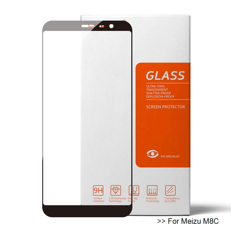 For Meizu M8C Glass Meizu M8C Tempered Glass On Meizu M8C Screen Protector Glass Premium Protective 9h Film