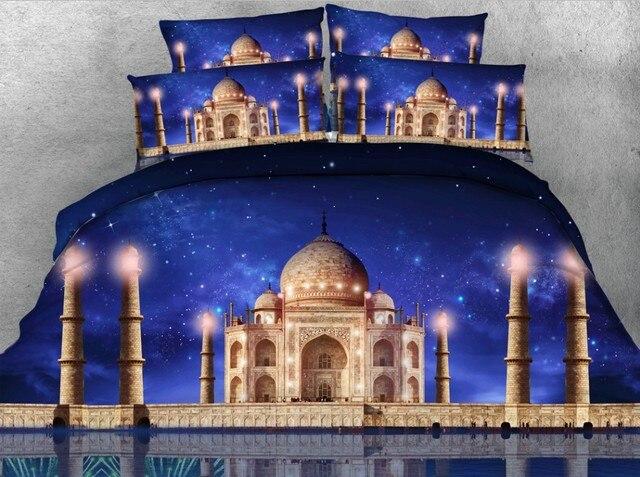 3d castle star bedding set quilt duvet cover bed in a bag sheets linens bedspreads bedsheet