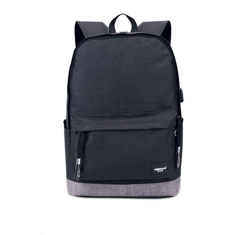Multifunction USB Charging Anti-thief Laptop Men Backpacks Teenager Boys Fashion Male Mochila Casual Canvas Travel Backpack D95