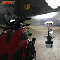 Universal Super Bright 35W 3500LM H4 Mini Projector Hi Low Head Light Bulbs For Car SUV Motorcycle 12V