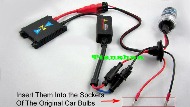 How To Install HID Conversion Kit Relay Harness Wiringsds ... H Hid Ballast Wiring Diagram on