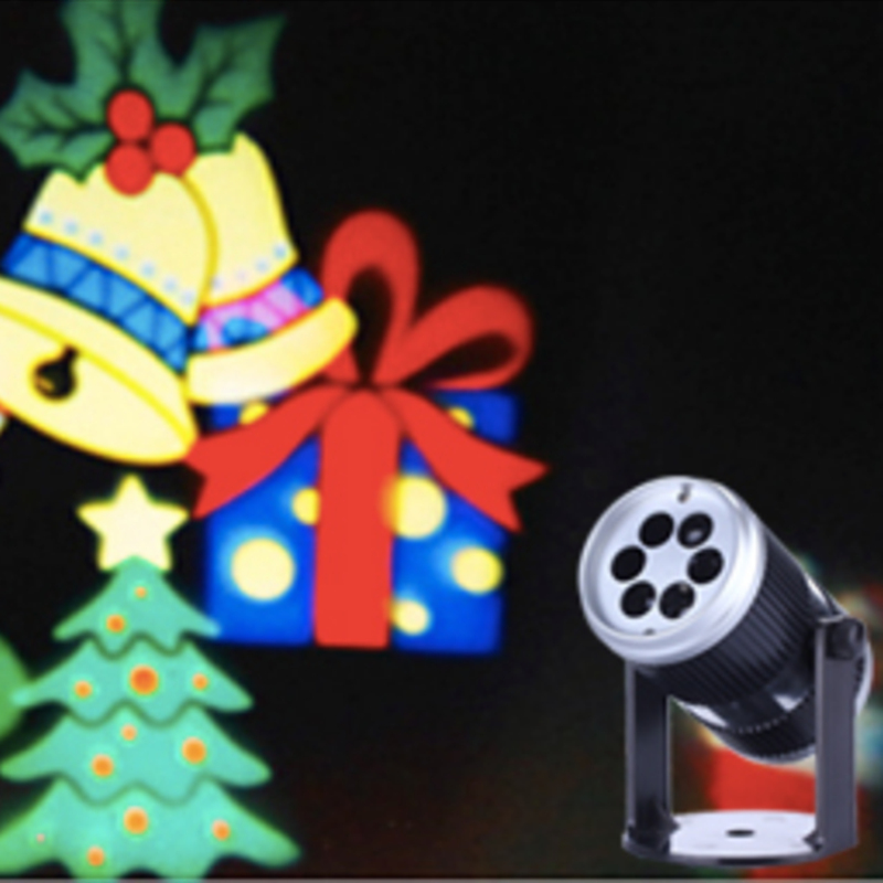 1X new arrival 2018 indoor merry christmas led light projector, happy new years projectors, mini colorful lights sound control