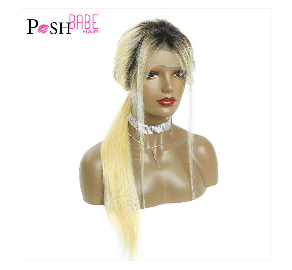 Blonde Lace Front Human Hair Wig (15)