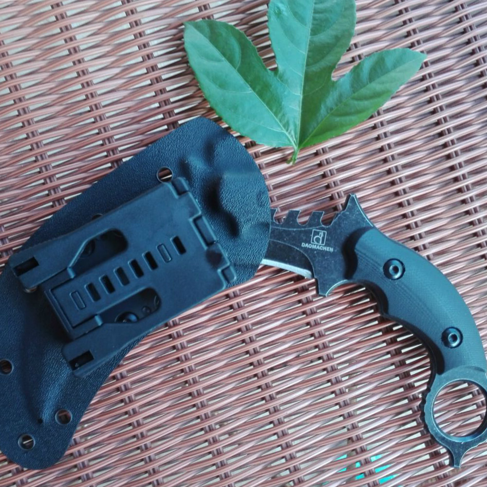Al aire libre Tactical Karambit Knife Camping Survival Hunting Claw - Herramientas manuales - foto 3
