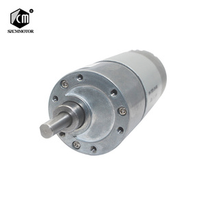 """Image 1 - 12VDC 8 1000 סל""""ד מומנט גבוה נמוך סל""""ד DC מנוע כל מתכת נמוך רעש הילוך מנוע JGB37 545"""