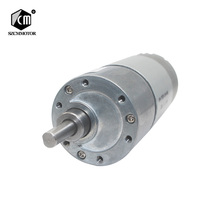 12VDC 8 1000RPM عزم دوران عالية منخفضة Rpm موتور تيار مباشر جميع المعادن منخفضة الضوضاء موتور تروس JGB37 545