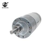 12VDC 8 1000RPM wysoki moment obrotowy niskie obroty silnik prądu stałego wszystkie metalowe niski poziom hałasu motoreduktor JGB37 545
