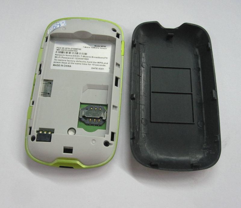 Unlock wifi router ZTE MF61 MF 61 Mifi 21M 3G Router 150Mbps
