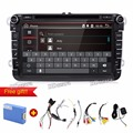 "8 ""2 din Quad core Мультимедийные VW Автомобиля DVD GPS Навигации аудио Android 6.0 TV player для GOLF 6 polo New Bora JETTA PASSAT B6"