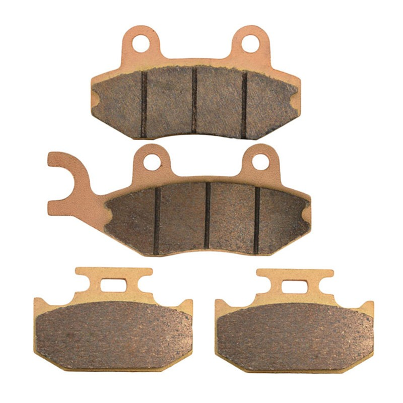Motorcycle Front and Rear Brake Pads for SUZUKI DR 350 DR350 SET/SEV 1996-1997 Sintered Brake Disc Pad motorcycle front and rear brake pads for husqvarna wr 360 wr360 1997 2003 sintered brake disc pad