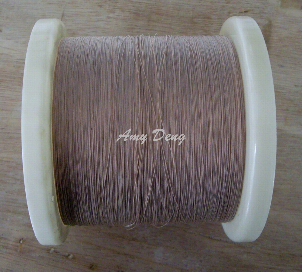 500 meters/lot  0.1x4 shares Litz strands of cotton polyester envelope copper