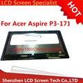 Nuevo original pantalla lcd para acer aspire p3-171 p3 171 b116xat03.1 asamblea de pantalla táctil lcd digitalizador asamblea envío gratis