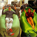 Beach Portable Outdoor Inflatable Bone Furniture Sofa Hammock Sleeping Camping Air Bed Nylon Lazy bed Clean Big