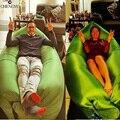 Playa Al Aire Libre Portable Inflable Hueso Perezoso Sofá Muebles Hamaca Para Dormir Cama de Aire Que Acampa de Nylon cama Limpia Grande
