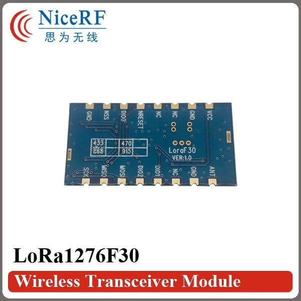 2PCS Lora1276F30 500mW de alta sensibilidade (-120 dBm) Módulo de RF - Equipamento de comunicação - Foto 2