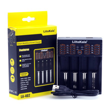 Liitokala lii 402 lii 202 lii PL4 charger can be charged 1.2V 3.7V AA/AAA 26650 18650 16340 lithium ion battery smart charger