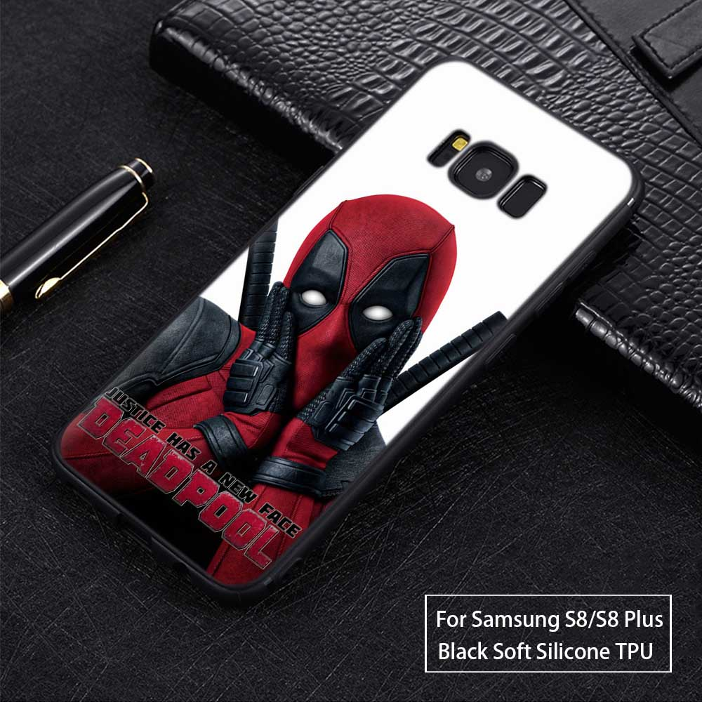 Cool Deadpool For 2019 New Coque Samsung Galaxy S9 Case Soft TPU ...