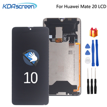 Original For Huawei Mate 20 LCD Display Touch Screen Digitizer Repair Parts For Huawei Mate 20 MT20 Screen LCD Display Phone 10pcs lot for huawei ascend mate 8 mt8 lcd display touch screen mobile phone lcds free shipping