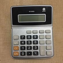 8 цифр Дисплей Бизнес электронный калькулятор с кнопкой Батарея QJY99
