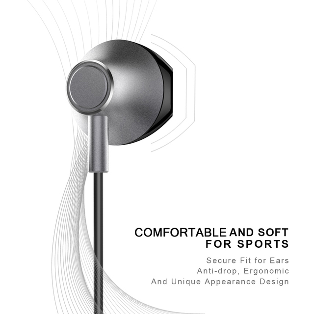 Picun H2 Bluetooth waterproof earphone with mic 3