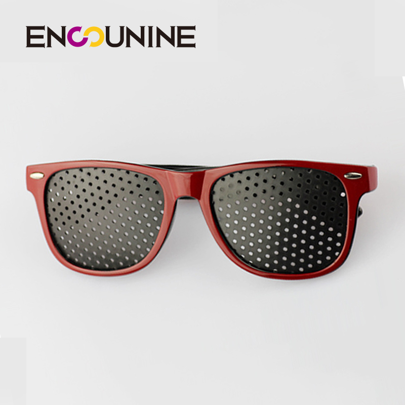 ENSUNINE Brand Designer Anti Fatigue Pinhole Sunglasses