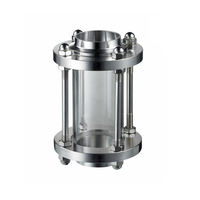 Tubulação sanitária Visor de Vidro 19mm, Aço inoxidável 304, Extremidades para solda, tubos De Ligação de Solda