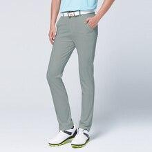 Golf polo golf odzież męska spodnie letnie oddychające spodnie wysokie elastyczne spodenki sportowe