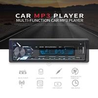 Newest 12V Car Radio recorder Stereo Auto Audio Player Bluetooth Phone AUX IN MP3 FM USB 1 Din Remote Control auto radio 2018