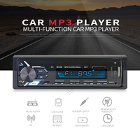 Newest 12V Car Radio Recorder Stereo Auto Audio Player Bluetooth Phone AUX IN MP3 FM USB