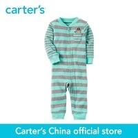 Carter S 1pcs Baby Children Kids Cotton Zip Up Footless Sleep Play 115G287 Sold By Carter